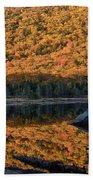 Forest Reflection Bath Towel