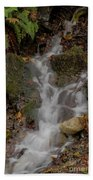 Forest Stream Cascade Bath Towel
