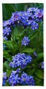 Forget Me Not  Bath Towel