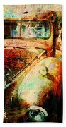 Forgotten Bath Towel by Barbara Berney
