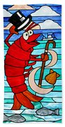Formal Lobster Bath Towel