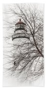 Fort Gratiot Lighthouse  Bath Towel