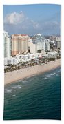Fort Lauderdale Beach Bath Towel