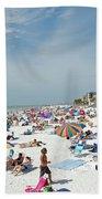 Fort Myers Beach Bath Towel