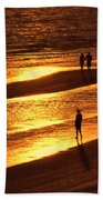 Fort Myers Beach Sunset  Bath Towel
