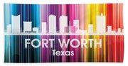 Fort Worth Tx 2 Hand Towel