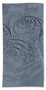 Fossils Bath Towel