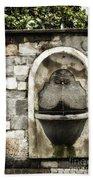 Fountain Of Ascona Hand Towel
