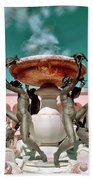 Fountain Of The Tortoises Ringling Museum Sarasota Bath Towel
