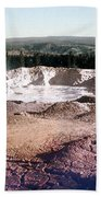 Fountain Paint Pot Yellowstone National Park Bath Towel
