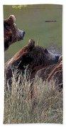 Four Bears Bath Towel