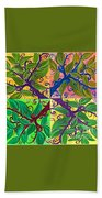Four Branches By Jrr Bath Towel