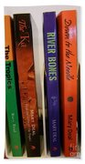 Four Of My Ten Books Published Bath Towel