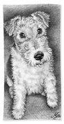 Foxterrier Bath Towel