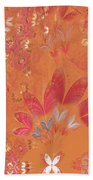 Fractal - Abstract - Japanese Motif Bath Towel