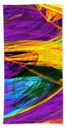 Fractal - Butterfly Wing Closeup Bath Towel