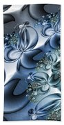 Fractal Dancing The Blues Bath Towel