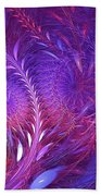 Fractal Flower Fields Bath Towel