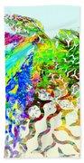 Fractal - Hummingbird Bath Towel
