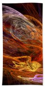 Fractal - Rise Of The Phoenix Bath Towel