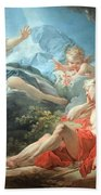 Fragonard's Diana And Endymion Bath Towel