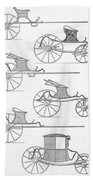 France Carriages, C1740 Hand Towel