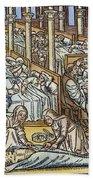 France: Hospital, C1500 Bath Towel