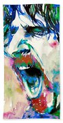Frank Zappa  Portrait.4 Hand Towel
