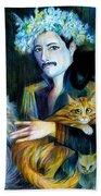 Freddie Mercury Bath Towel