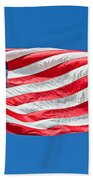 Freedom American Flag Art Prints Bath Towel