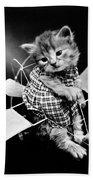 Frees Kittens, C1914 Bath Towel