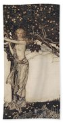 Freia The Fair One Illustration From The Rhinegold And The Valkyrie Bath Towel