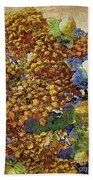 French Country Print Bath Towel