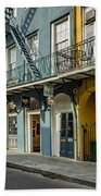 French Quarter Art And Artistry Bath Towel