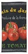 French Vegetables 1 Bath Towel