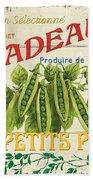 French Veggie Sign 1 Hand Towel by Debbie DeWitt