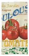 French Veggie Sign 3 Hand Towel