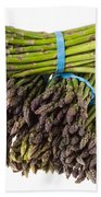 Fresh Asparagus Bath Towel