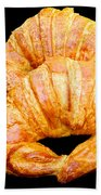 Fresh Croissants Bath Towel