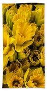 Fresh Daffodils  Bath Towel