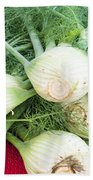 Fresh Fennel At The Market Hand Towel