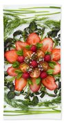 Fresh Fruit Salad Bath Towel