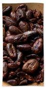 Fresh Roasted Cocoa Beans - Nibs Bath Towel