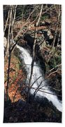 Fresh Water Streams Around Poconos Pa America Usa  Bath Towel