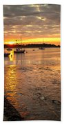 Fresh Water Sunset Bath Towel