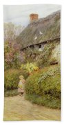 Freshwater Cottage Wc On Paper Bath Towel