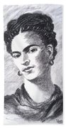 Frida Kahlo Bath Towel