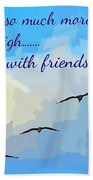 Friends Bath Towel