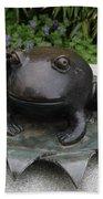 Frog Whisperer Bath Towel