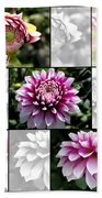 From Bud To Bloom - Dahlia Named Brian Ray Bath Towel